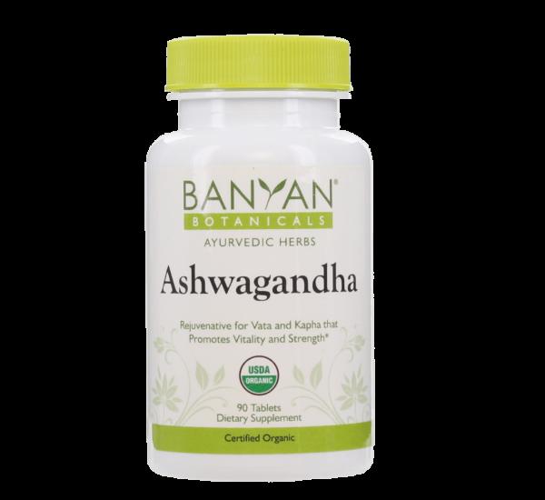 Ashwagandha (organic) 500 mg - 90 tablets by Banyan Botanicals 1
