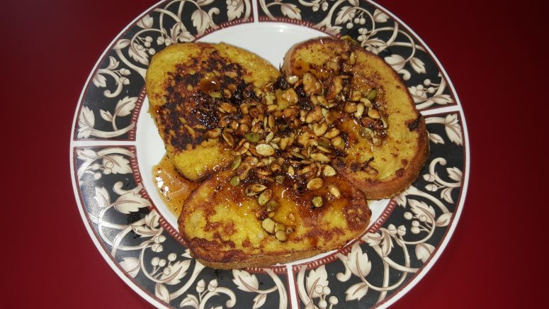 Recipe: French Toast for early Vata Season & Better Digestion