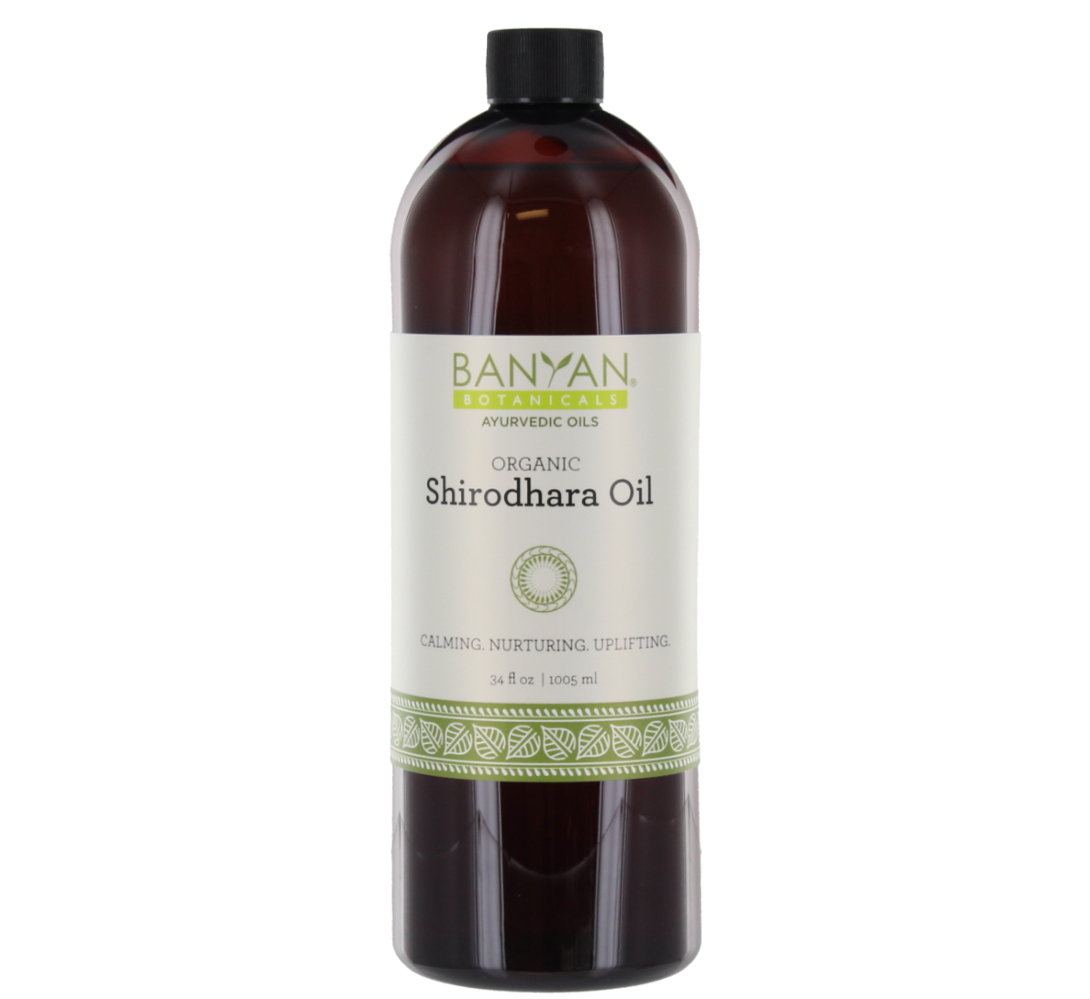 Shirodhara Oil 34 fl oz - Banyan Botanicals
