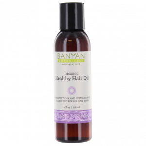 Healthy Hair Oil, 4 fl oz - Banyan Botanicals