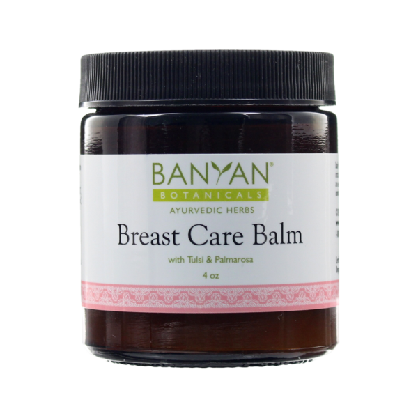 Breast Care Balm, 4 oz by Banyan Botanicals