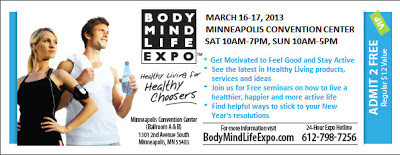 Free VIP Ticket for the Body Mind Life Expo 1