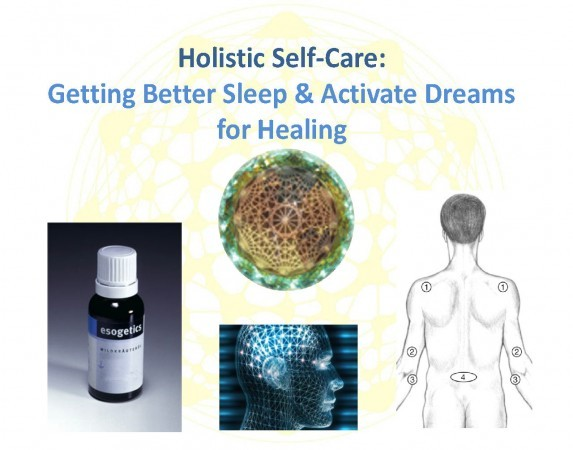 Holistic Self-care: Getting Better Sleep & Activating Dreams for Healing
