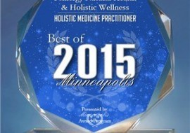 Press Release: Psinergy Natural Health & Holistic Wellness Receives 2015 Best of Minneapolis Award
