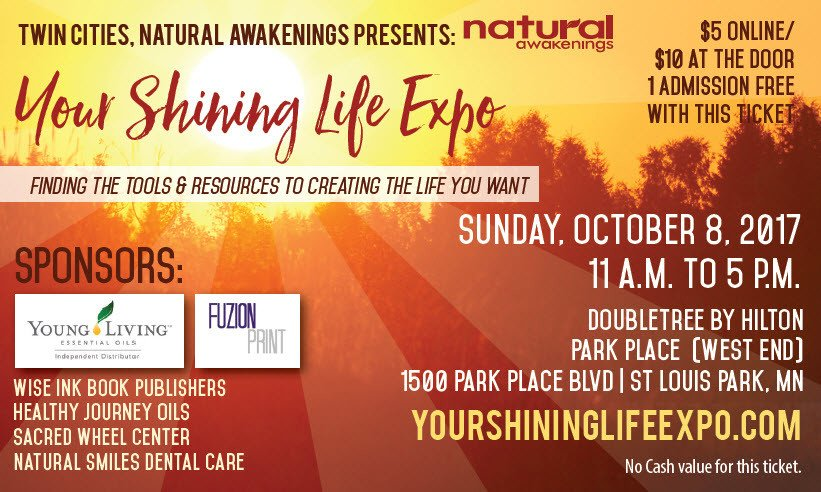Free Ticket for Your Shining Life Expo - October 8, 2017