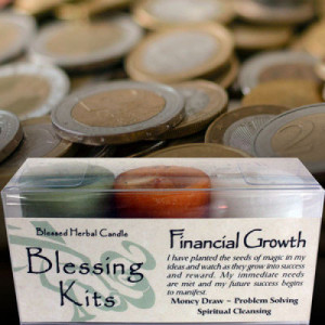 Financial Growth - Blessed Herbal Blessing Kit