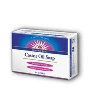 Castor Oil Soap 3.5 oz by Heritage Store