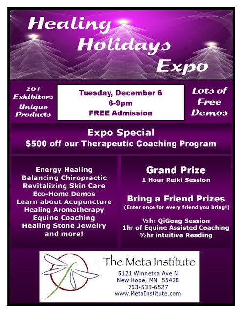 Healing Holidays Expo at The Meta Institute in New Hope 1