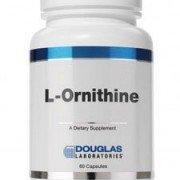 L-Ornithine 500mg 60 caps by Douglas Laboratories