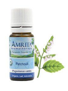 Patchouli (Organic) 10 ml - Amrita Aromatherapy