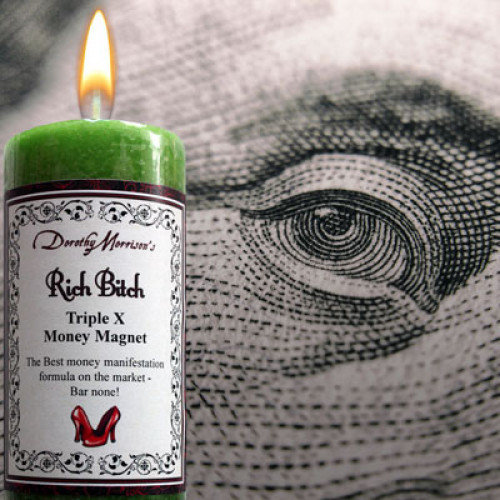 Rich Bitch - Wicked Witch Mojo Candle (Limited Edition)