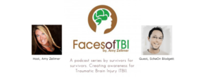 "Radio Interview with Amy Zellmer/Faces of TBI: ""SchaOn Blodgett talks about a healers own concussion rehab"" @ Faces of TBI with Amy Zellmer"