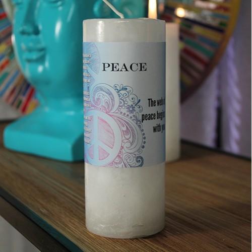 Peace - World Magic Candle