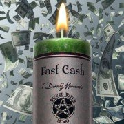 Fast Cash - Dorothy Morrison's Wicked Witch Mojo Candle