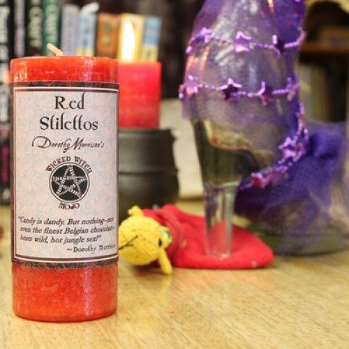 Red Stilettos - Wicked Witch Mojo Candle