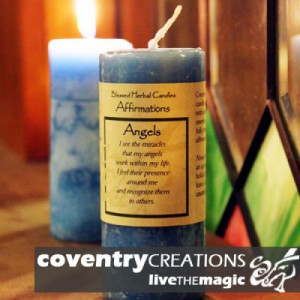 Angels - Blessed Herbal Affirmation Candle