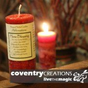 Home Blessing - Blessed Herb Affirmation Candle