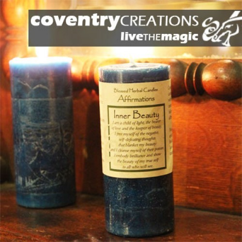 Inner Beauty - Blessed Herb Affirmation Candle