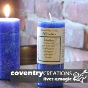 Intuition - Blessed Herb Affirmation Candle