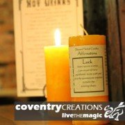 Luck - Blessed Herb Affirmation Candle