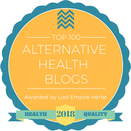 We're in the Top 100 for Alternative Health Blogs for 2018!