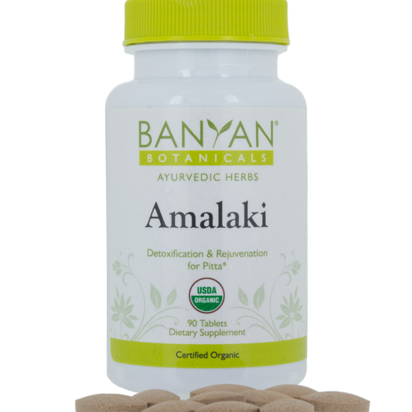 Amalaki, Organic - 90 tabs - Banyan Botanicals