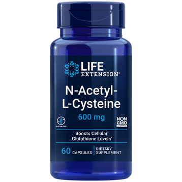 N-Acetyl-L-Cysteine 600 mg 60 vegcaps by Life Extension