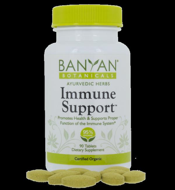 Immune Support 90 tablets, 500 mg - Banyan Botanicals