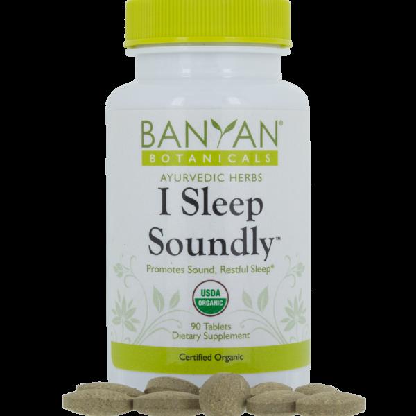 I Sleep Soundly, 90 tabs - Banyan Botanicals