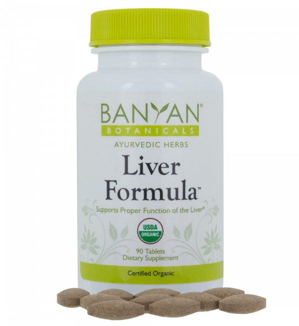 Liver Formula 90 tablets, Banyan Botanicals