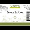 Neem Aloe Soap 3.5 oz - Banyan Botanicals ingredients