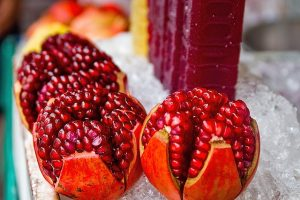 PomegranateJuice to beat the Summer Heat