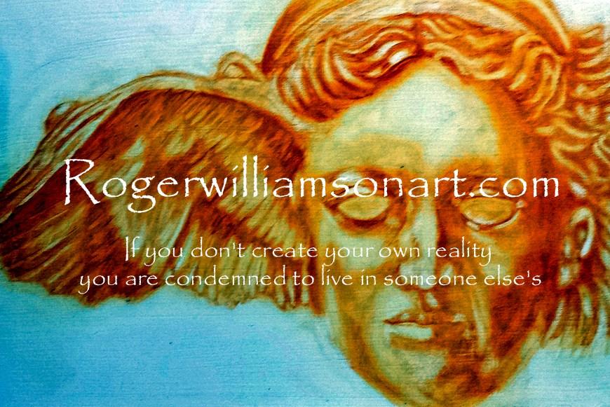 Symbolic Mythological Art – Roger Williamson Art