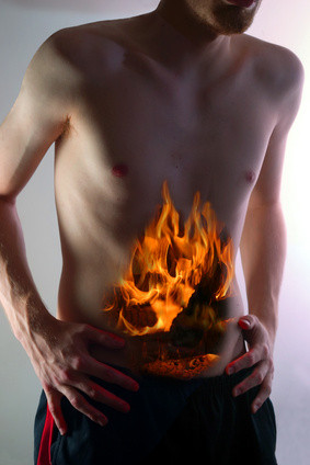 Acid Reflux / Ulcers from a Spiritual standpoint
