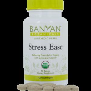 Stress Ease tablets by Banyan Botanicals