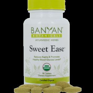 Sweet Ease 90 tablets 500 mg - Banyan Botanicals