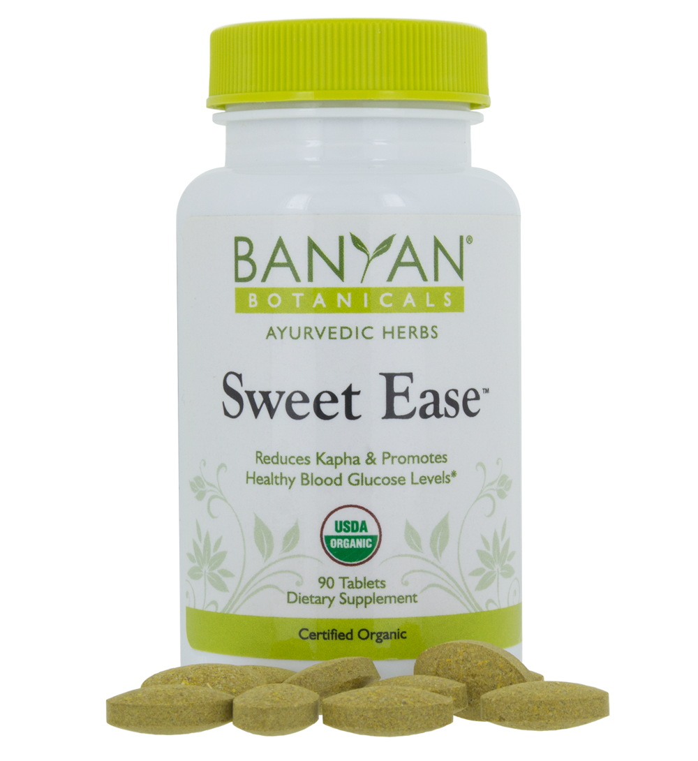 Sweet Ease 90 tablets 500 mg - Banyan Botanicals
